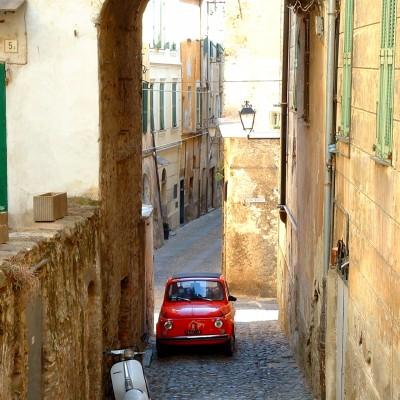 Vespa Fiat - Flickr, Olivier Bacquet