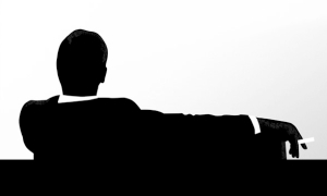 Don Draper Mad Men smoking 300x180