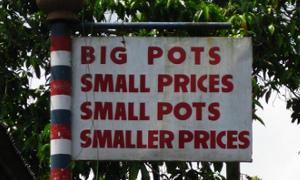 pots price - Ben Beiske