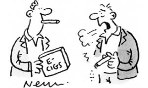 Spectator cartoon of smoking 300x180