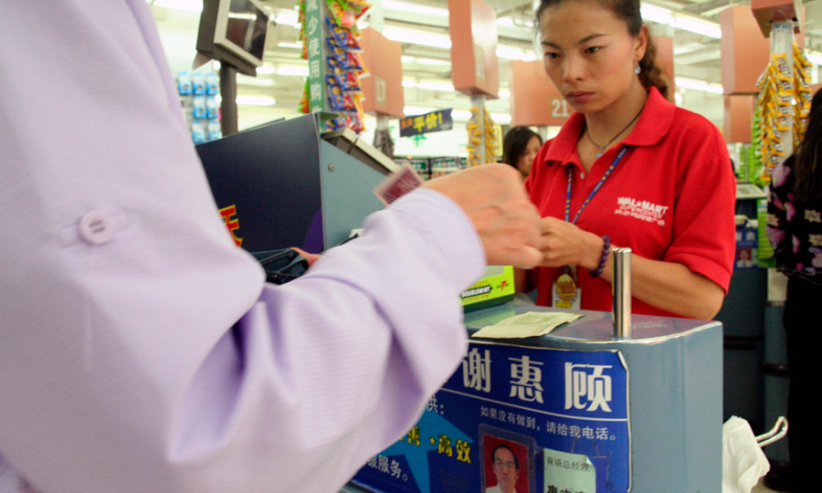 outsourcing china and wal mart Wal-mart stores inc is making another round of job cuts as part of chief bloomberg quickly and accurately delivers how china's top leaders.