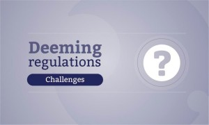 deeming regulations news package - challenges 900x540