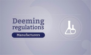 deeming regulations news package - manufacturers 900x540
