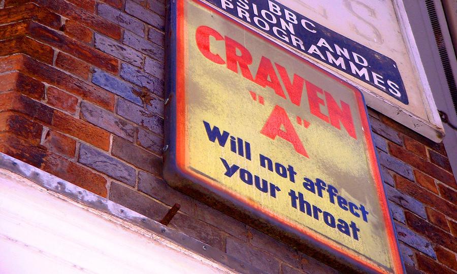 Craven cigarette advertising - Dominic Alves