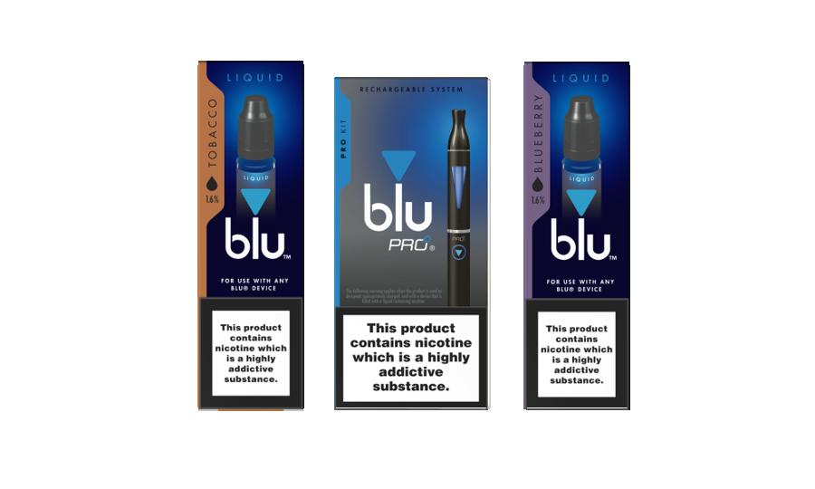 Blu TPD compliant range - Blu