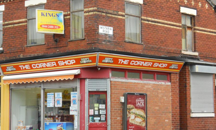 Convenience corner shop - Mikey