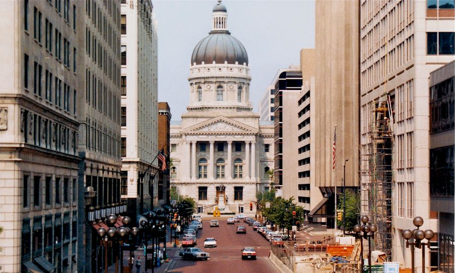 Indiana State Capitol, Indianapolis, by Bob Hall