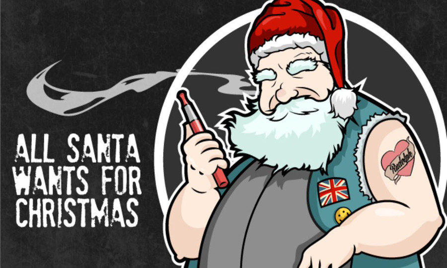 Santa ASA - The Vapes Twitter