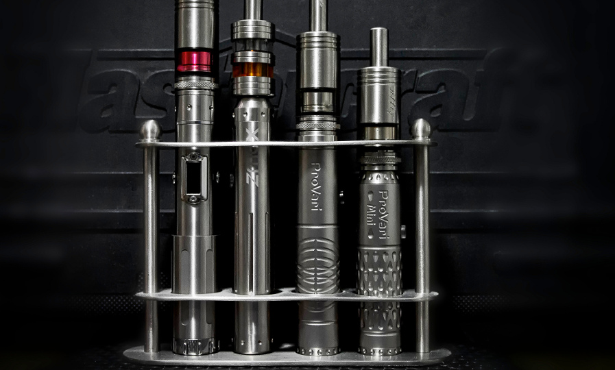 Selection of ecigs inc two from ProVape on the right - Terry Ozon
