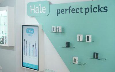 Hale Vapes store design - Hale