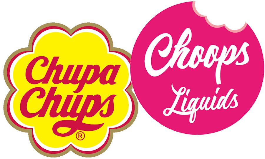 Chupa Chups versus Choops Liquids