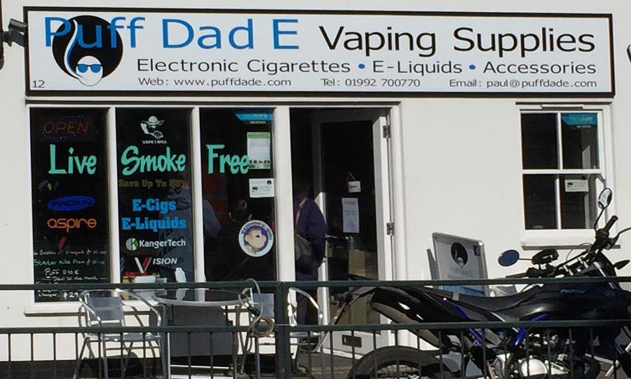 Worst pun or best pun - e-cigs and smoking in UK - Matt Brown