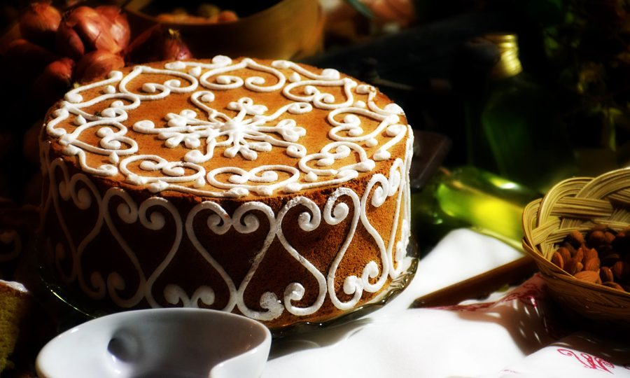 Traditional Croatian cake