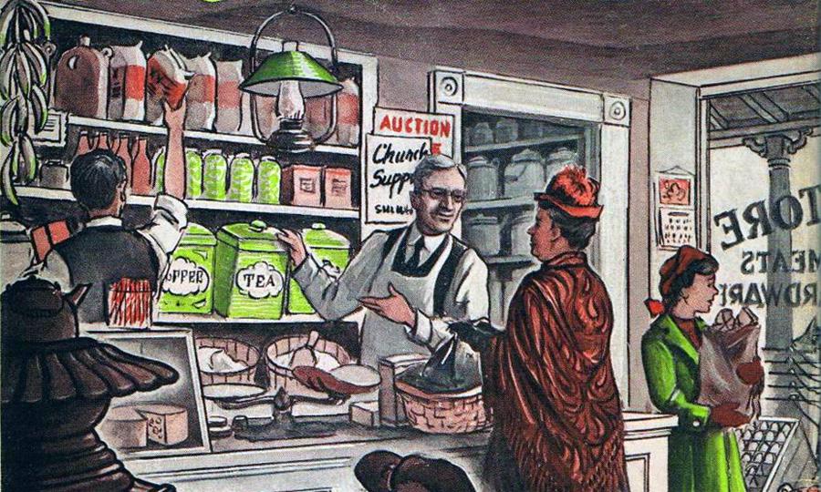 Yankee Storekeeper, book cover