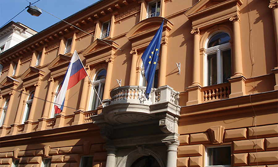 The Slovenian Constitutional Court building, Ljubljana
